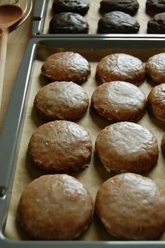 Classic Lebkuchen recipe, i stalk the commissary at christmas time for lebkuchen, i'll have to try this recipe and see how it measures up :)