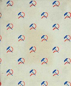 Textile designs by Lyubov Popova and/or Varvara Stepanova, c. 1924