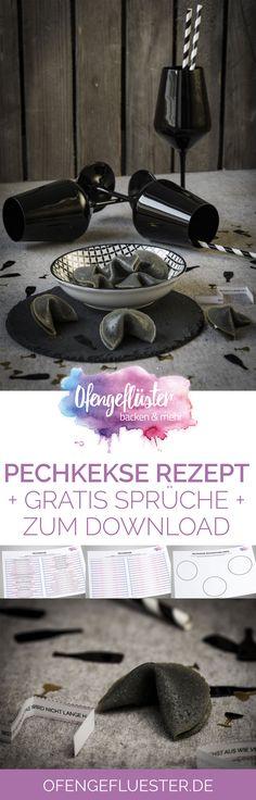 Pechkekse Rezept ✩ gratis Sprüche PDF zum Download ✩