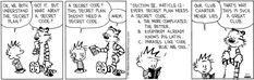 Calvin and Hobbes strip for April 1, 2015