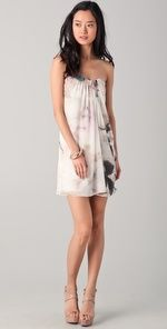 A+O Strapless Eva Dress would be great for a spring/summer wedding!