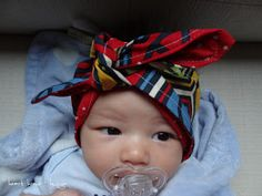 DIY baby turban