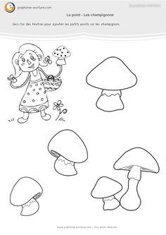 graphisme-maternelle-les-points-les-champignons