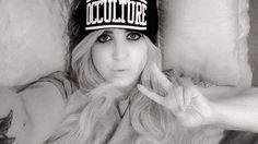 """Occulture"" Beanie Available at www.crmc-clothing.co.uk | WE SHIP WORLDWIDE Model @rhivonbee #tattooedwomen #girlswithtattoos #alternative #alternativeteen #altgirl #alternativegirl #fashionstatement #altfashion #instafashion #fashiongram #fashionista #fashionoftheday #picoftheday #photooftheday #stylegram #stylefashion #igers #love #beautiful #instalove #fashion #instagood #instastyle #instalike #instadaily"