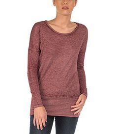Bench Damen Umstands T-Shirt Shirt Long Sleeve Bemuze