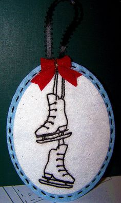 Iceskate Christmas Ornament By kittykill @Tony Gebely Gebely Gebely Wang: