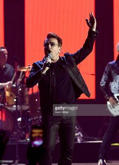 Recording artist Bono of music group U2 performs onstage at the 2016 iHeartRadio Music Festival at T-Mobile Arena on September 23, 2016 in Las Vegas, Nevada.