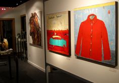 Gallery MAR Hudson Hornet, Red Leather, Leather Jacket, Mary, Studio, Gallery, Jackets, Shirts, Painting