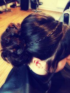 Hair up ❤️