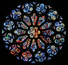 Rose window of Grace Cathedral