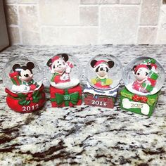 #HappyHolidays #Aww #Regram @setharoo93 ・・・ A Mickey Mouse snow globe from work for each Christmas season I've worked at JCPenney #4thchristmas #JCPenney  #mickeymouse #disney