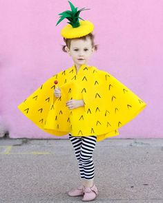 Déguisement ananas