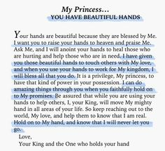 You are a Princess of the Beloved King