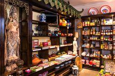 Dim Sum, Byron Bay, Asian Recipes, Liquor Cabinet, Store, Red, Home Decor, Decoration Home, Room Decor
