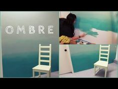 How to Paint An Ombre Wall - DIY Projects for Teens