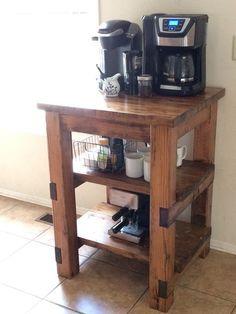 Ana White | Coffee Bar - DIY Projects