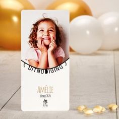 Playful invitation card communion with photo Invite your guests to the communion of your child with this playful invitation card. Faire Part Communion, First Communion, Invitation Design, Invitation Cards, Invitations, Kids Birthday Presents, Spring Party, Kid Names, Cool Kids