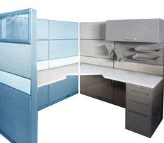 Save on the cost of purchasing new workstations by refurbishing those old grey workstations with some vibrant new fabric! For custom refurbishing to your company's requirements, designed with your corporate colors in mind call Smart Office Solutions 1-604-859-7678.