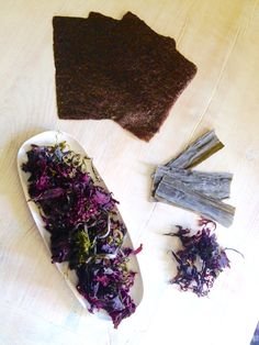 rustica® con alici marinate al pepe rosa, lime e alghe disidratate ... - Alghe In Cucina