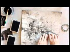 My favorite - layout for Mixed Media Place - YouTube