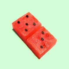 Clever watermelon seed dominos