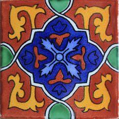 Terra Granada Talavera Mexican Tile > 211315-15