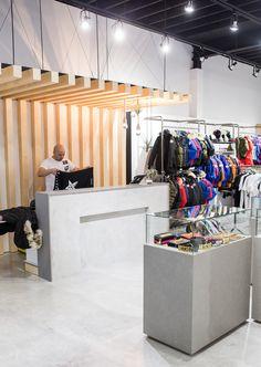 Feuille retail design elements Vancouver BC PROJECT FEUILLE