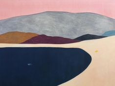 Unreal spaces: Guim Tio peaceful paintings depicting a single character alone in a majestic landscape #abstractart #art #drawing #fineart #guimtio #illustration #landscape #minimalism #painting #portrait #spain