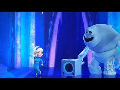 Marshmallow the Frozen Snow Monster Teaches Elsa ABC Alphabet Song - YouTube