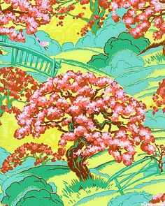 'Spring's Beauty' from the 'Cameo' collection by Amy Butler for Rowan Fabrics.