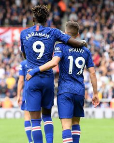 @tammyabraham1 🤜🤛 @masonmount10 💙 #CFC #Chelsea Chelsea Football Team, Chelsea Fc Players, Best Football Players, Football Boys, College Football, Chelsea Fc Wallpaper, Tammy Abraham, Soccer Pictures, Fc Chelsea