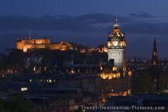 Edinburgh Scotland...beautiful city, castle and history