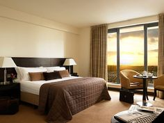 Notice the beautiful symmetry of the room Give Your Home a Stylish Hotel Ambiance