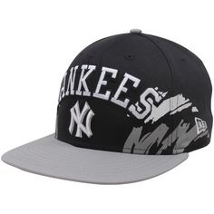 6b269c60114 New Era New York Yankees Black-Silver Side Snapback 9FIFTY Adjustable Hat  Yankees Outfit