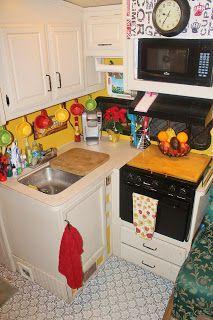 Adventures in RV-Living: My RV Kitchen