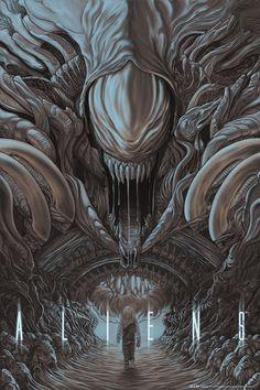 Mondo - ALIENS Poster - Randy Ortiz