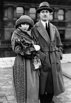 dorothy gish and james rennie. what a handsome couple.