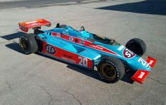 Another favorite when I was a kid. wildcat indy car   1983 Wildcat Mk 9B Indy Car