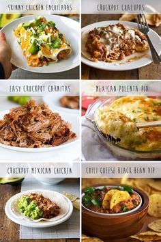 Favorite Mexican Crockpot Recipes - LOVE Mexican food, love Crockpot.....love #mexicanfoodrecipes