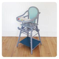 Chaise haute bébé vintage -
