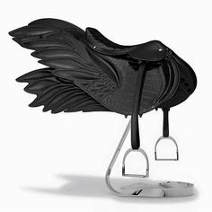 The winged saddle by Hermes is impractically perfect.