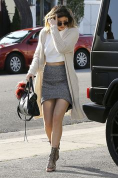 04.23.14: Kylie headed to Andy LeCompte Salon in West Hollywood