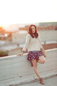 Chriselle Lim in the Morie Sweater and Sisily Skirt....omg i love her, she is one my favorite youtube fashion guru:)