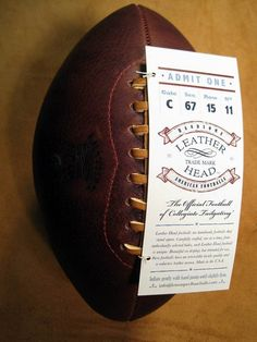 Leather head handsome american football from LemonBall