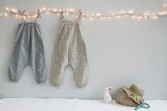 lighted branch for displaying clothes
