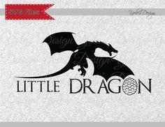 Game of Thrones petit Dragon d'inspiration Instant Télécharger fichier en Svg, Eps, Dxf et Format Jpeg de coupe