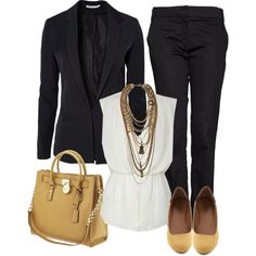 Polyvore - Office outfit