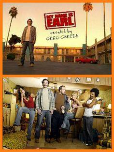 My Name Is Earl (2005–2009)  Jason Lee, Ethan Suplee, Jaime Pressly, Eddie Steeples, and Nadine Velazquez