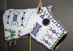 American Indian Museum hosts 'Song for Horse Nation' Native American Masks, Native American Horses, Native American Clothing, Native American Regalia, Native American Beadwork, Native American History, Horse Mask, Indian Horses, Indian Beadwork
