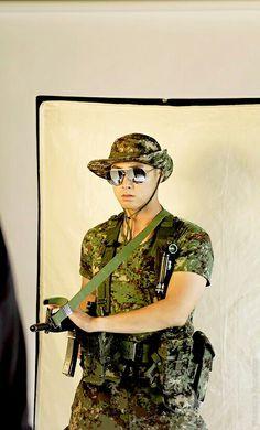 Military magazine photoshoot Jung Yunho, Tvxq, Ufo, Mona Lisa, Military, Photoshoot, History, Artwork, People